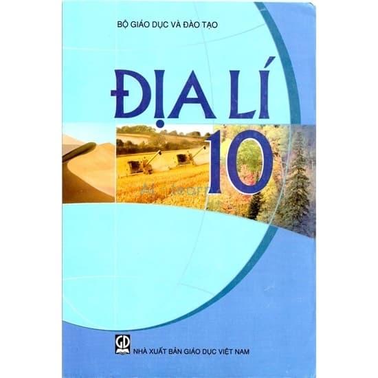 Sách Giáo Khoa Địa Lí Lớp 10