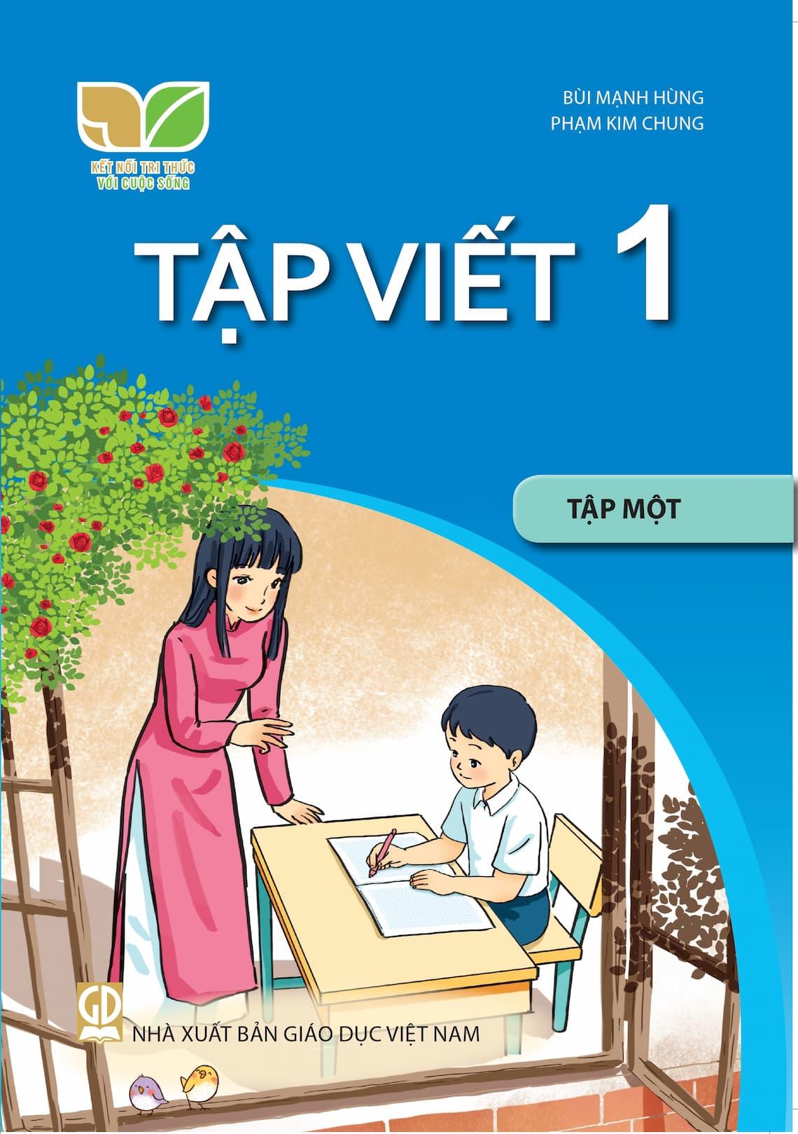 Sách Tập Viết 1 Tập 1 - Kết Nối Tri Thức Với Cuộc Sống