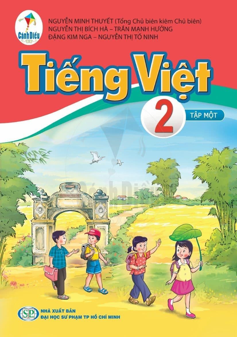 Sách Tiếng Việt 2 Tập 1 - Cánh Diều